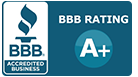 A+ Rating with the BBB for Surrey Heating and Air Conditioning
